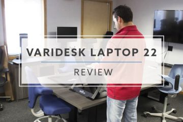 Varidesk Laptop 22™ Portable Sit Stand Converter (2020 Review / Rating / Pricing)