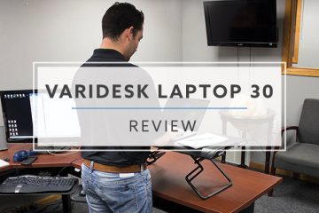 Varidesk Laptop 30™ Standing Desk Converter (2020 Review / Rating / Pricing)