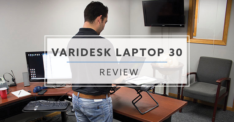 VariDesk Laptop 30™ Standing Desk Converter (Review / Pricing)