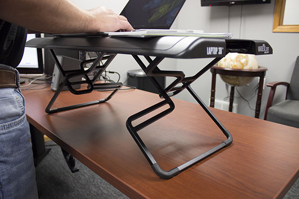 The VariDesk Laptop 30 Base
