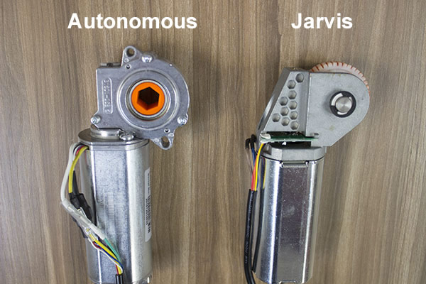 Autonomous and Jarvis Motor Comparison Back