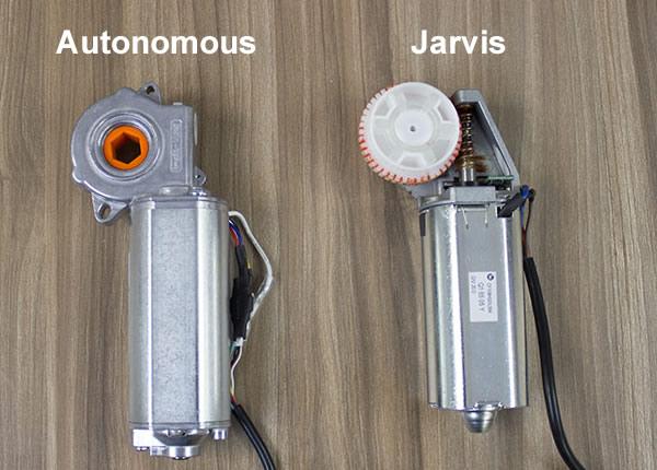 Autonomous and Jarvis Motor Comparison Front