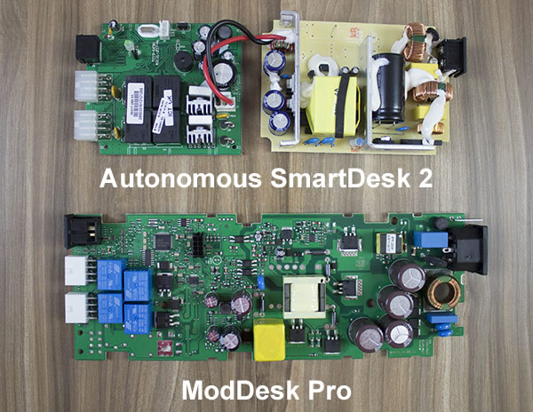 TiMotion Electronics on Autonomous vs. LogicData on ModDesk Pro