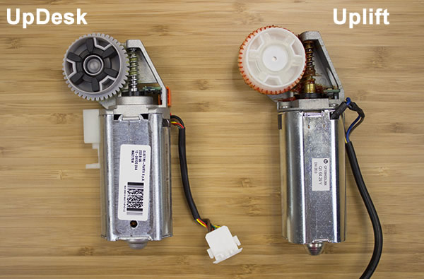 UpDesk and Uplift Motor Comparison