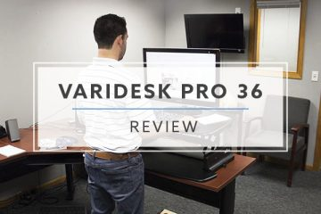 Varidesk Pro 36™ Standing Desk Converter (2020 Review / Rating / Pricing)