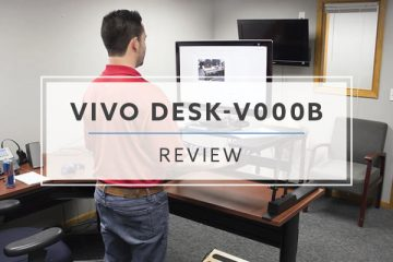 VIVO DESK-V000B Sit Stand Desktop Converter (Review / Rating / Pricing)