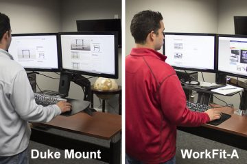 BTOD Duke Mount VS. Ergotron WorkFit-A: Which is better?