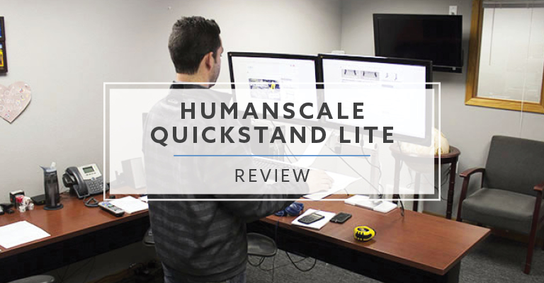Humanscale QuickStand Lite Sit to Stand Converter (2020 Review / Rating / Pricing)