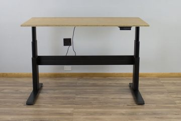 NewHeights Elegante XT Electric Standing Desk (Review / Rating / Pricing)