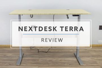 NextDesk Terra™ Electric Standing Desk (Review / Rating / Pricing)