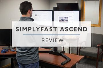 OMT Veyhl Ascend Electric Standing Desk Converter (2020 Review / Rating / Pricing)
