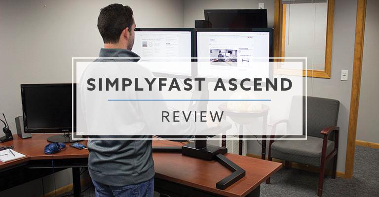 OMT Veyhl Ascend Electric Standing Desk Converter (2020 Review / Rating / Pricing)
