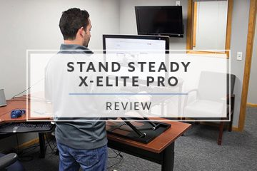 Stand Steady X-Elite Pro Standing Desk Converter (2019 Review / Rating / Pricing)