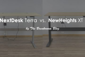 NextDesk Terra VS. NewHeights XT: Which standing desk is better?