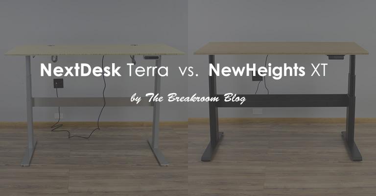 NextDesk Terra VS. NewHeights XT: Which standing desk is better?