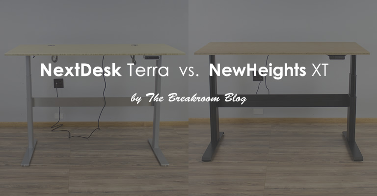 Nextdesk Terra Vs Newheights Xt Which Standing Desk Is
