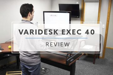 Varidesk EXEC 40™ Standing Desk Converter (2019 Review / Rating / Pricing)