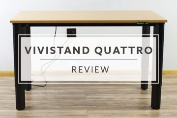 ViviStand Quattro Four Post Leg Standing Desk (2019 Review / Rating / Pricing)