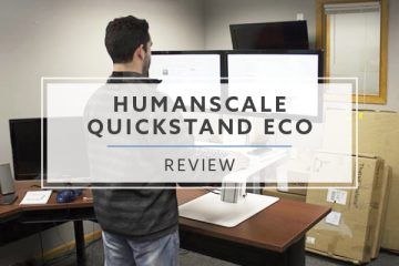 Humanscale QuickStand Eco Desktop Converter (2020 Review / Rating / Pricing)