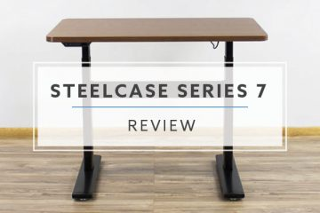 Steelcase Series 7 Electric Standing Desk (Review / Rating / Pricing)