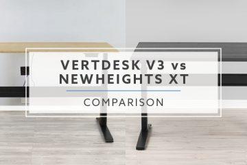 The VertDesk v3 vs. NewHeights XT: Which standing desk is better?