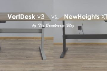 The VertDesk v3 vs. NewHeights XT: Which standing desk is better?