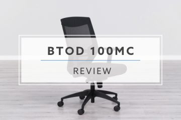 BTOD 100MC Mesh Back Office Chair (2019 Review / Rating / Pricing)