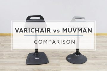 Standing Chair Comparison: VARIDESK VARIchair® vs. aeris GmbH Muvman (2020)