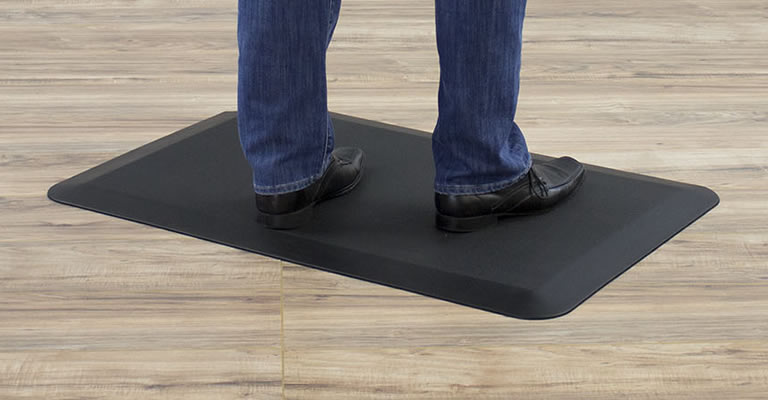 VARIDESK Anti-Fatigue Comfort Floor Mat
