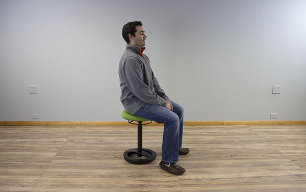 Lowest seated position