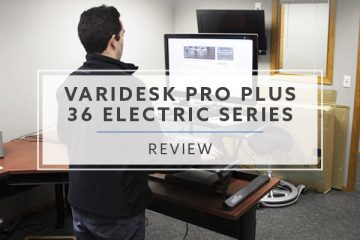 Varidesk ProPlus™ 36 Electric Series Black (Review / Rating / Pricing)