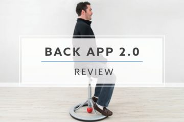 Back App 2.0 Standing Desk Chair Review (2019 Review / Rating / Pricing)
