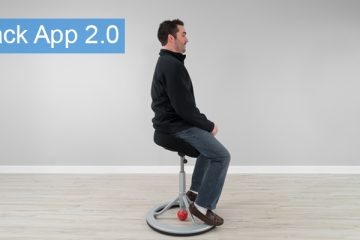 Back App 2.0 Standing Desk Chair Review (Review / Rating / Pricing)