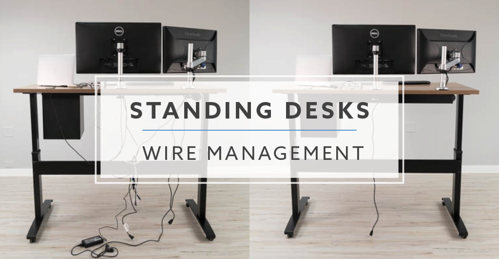 Wire Management Explained For Standing Desks and More