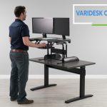 VARIDESK Cube Corner Review Header