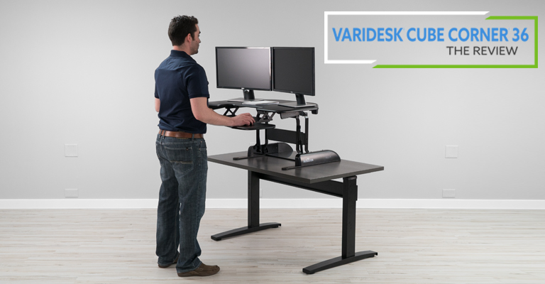 VARIDESK Cube Corner Review Header