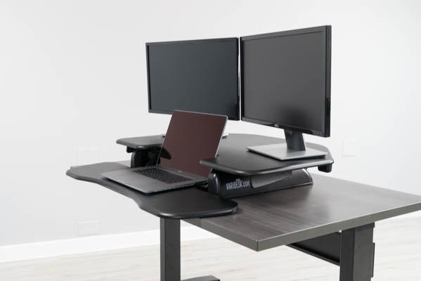 Varidesk Cube Corner 174 36 Standing Desk Converter Review