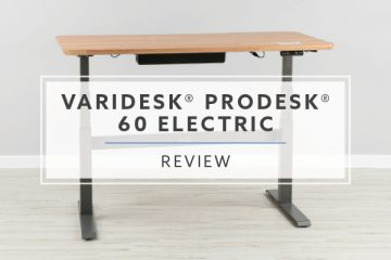 VARIDESK ProDesk® 60 Electric Standing Desk (2019 Review / Rating / Pricing)