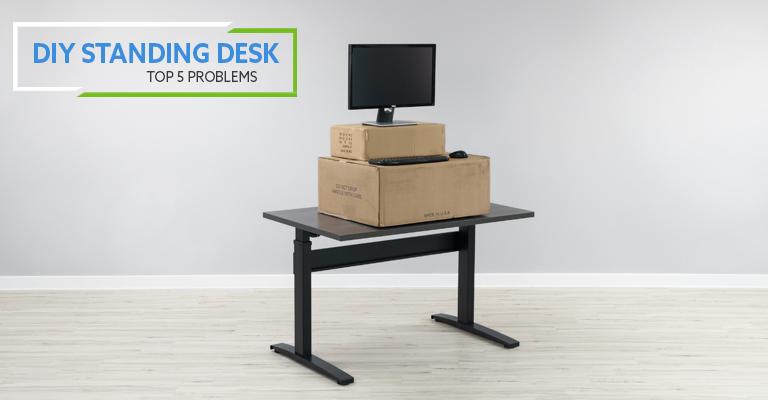 top 5 problems with do it yourself diy standing desks rh btod com make your own adjustable standing desk how to make your own standing/sitting desk