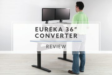 "Eureka Ergonomic Sit-Stand Desktop 36"" ERK-CV-PRO36 (Review / Rating / Pricing)"