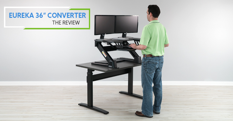 Eureka Standing Desk Converter Review Header
