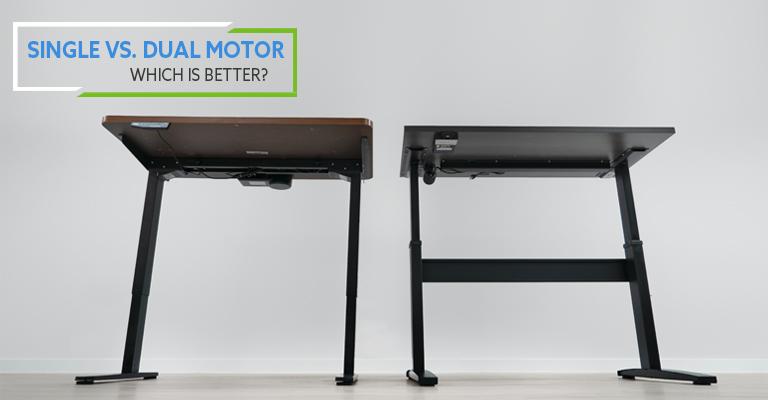 Single Motor vs Dual Motor Standing Desks. Which is better?