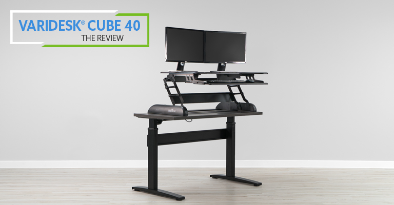 VariDesk Cube Plus 40 review header
