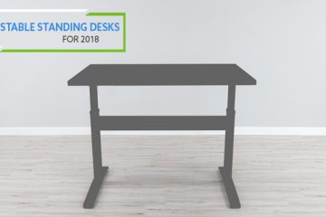 Top 4 Most Stable Two Leg Electric Standing Desks in 2018