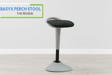 Basyx by HON Perch Stool HVLPERCH (Review / Rating / Pricing)