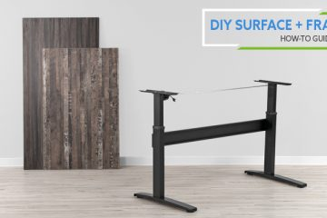 How-To Pair DIY Surface and Standing Desk Frame