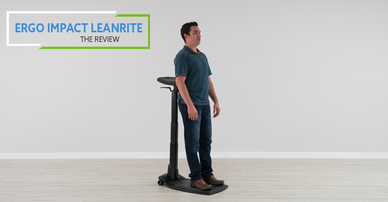 Ergo Impact LeanRite™ Elite Standing Desk Chair (Review / Rating / Pricing)