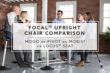Focal™ Upright Chair Comparison 2019: Mogo vs Pivot vs Mobis® vs Locus™ Seat