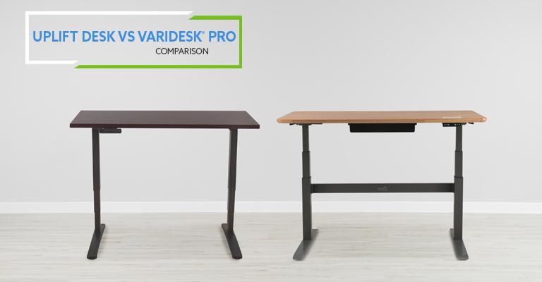 VARIDESK ProDesk 60 Electric vs Uplift Desk Review Header