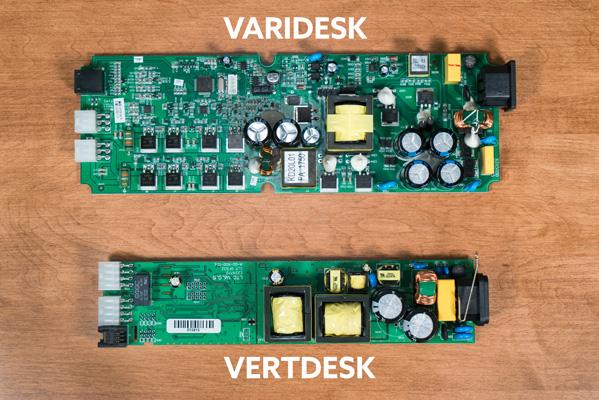 Top control box comparison